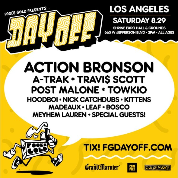 Action Bronson tops lineup for Fool's Gold Day Off, coming ...