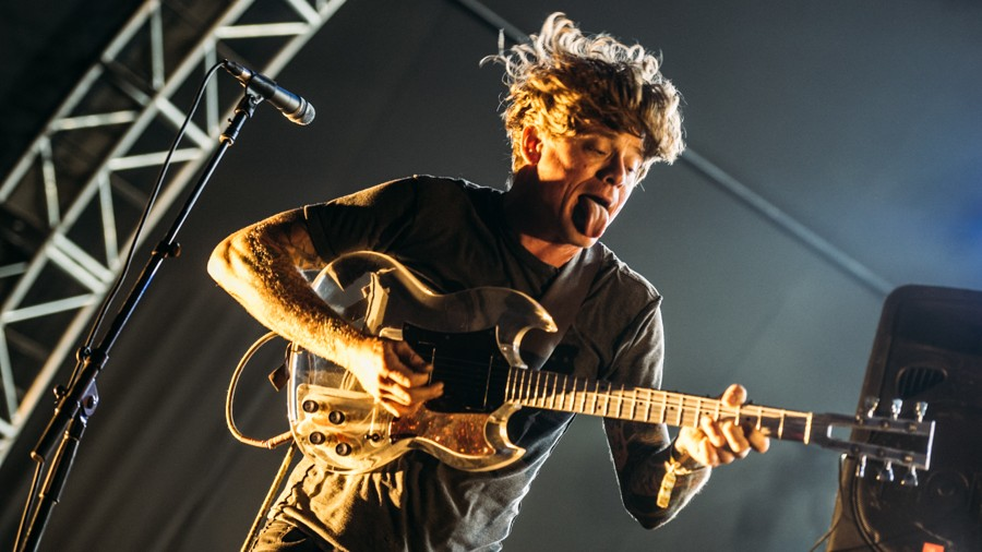 Thee Oh Sees at FYF Fest 2015 (Photo by Zane Roessell)