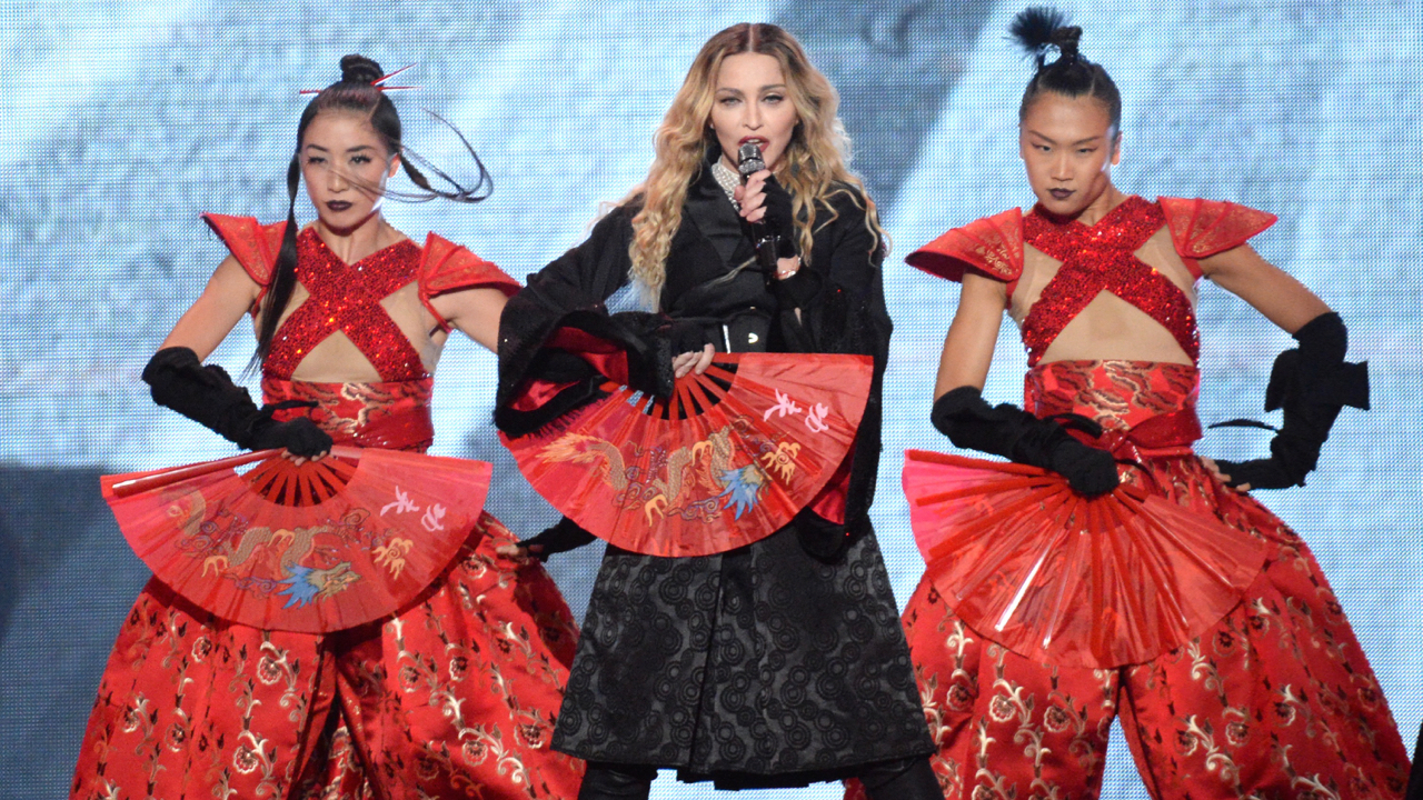 Madonna, performing in Montreal (Photo by Kevin Mazur/Wire Image)