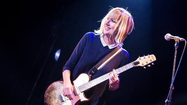 The Muffs at the Echoplex (Photo by Carl Pocket)