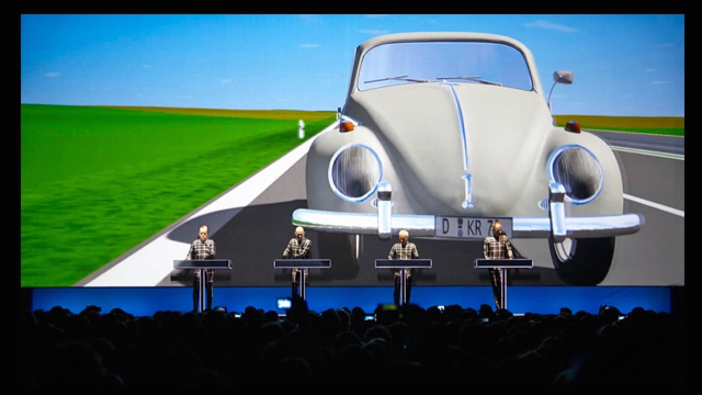 Kraftwerk bring their 3D show to the Bowl on Sept. 18