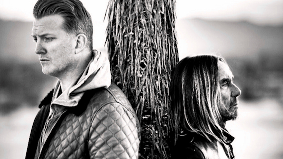 Josh Homme and Iggy Pop