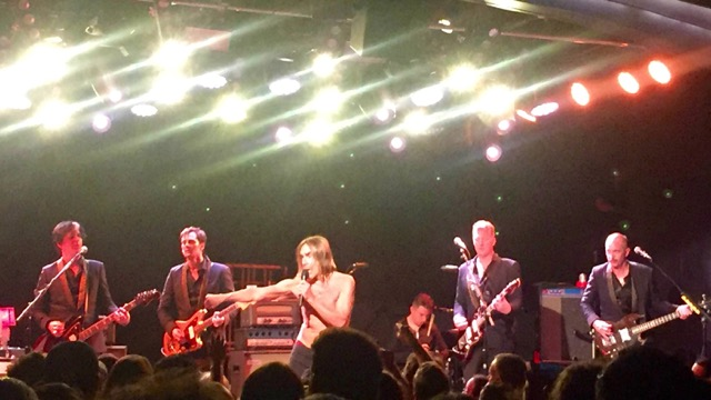 Iggy Pop at the Teragram Ballroom (Photo by Adam Palermo)