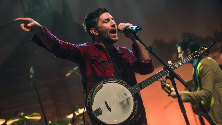 The Avett Brothers at the Greek Theatre (Photo by Samantha Saturday)