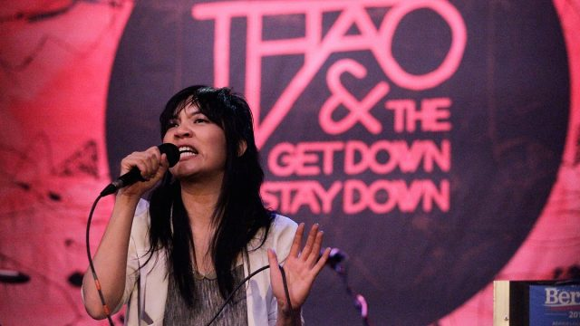 Thao & the Get Down Stay Down at the Regent (Photo by Brian Feinzimer)