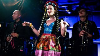 Monsieur Periné at the Echo (Photo by Carl Pocket)