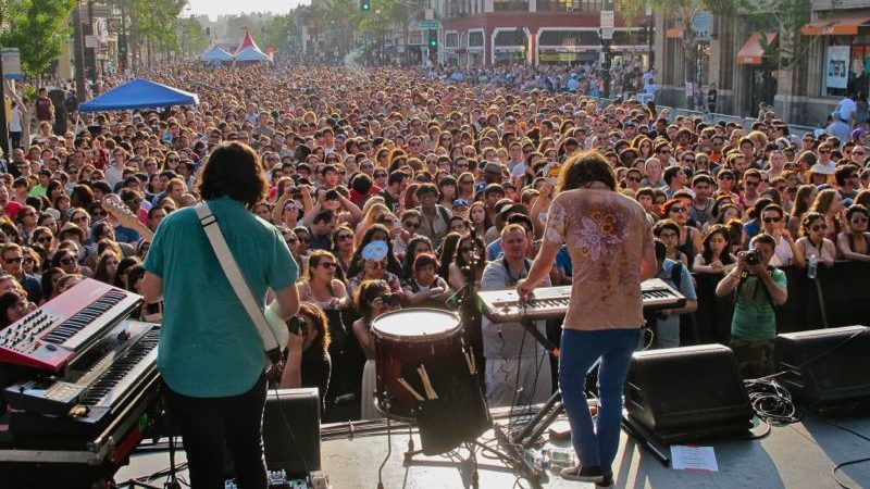 Youngblood Hawke at Make Music Pasadena in 2013