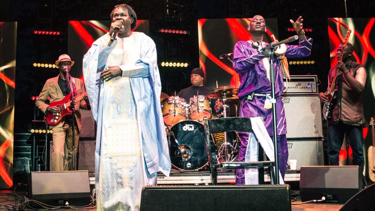 Baaba Maal at Sound in Focus in Century City (Photo by Jazz Shademan)