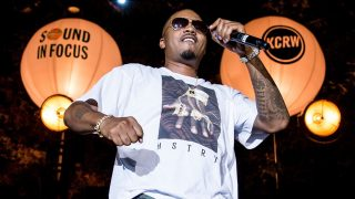 Nas at Sound in Focus at the Annenberg Space for Photography (Photo by Carl Pocket)