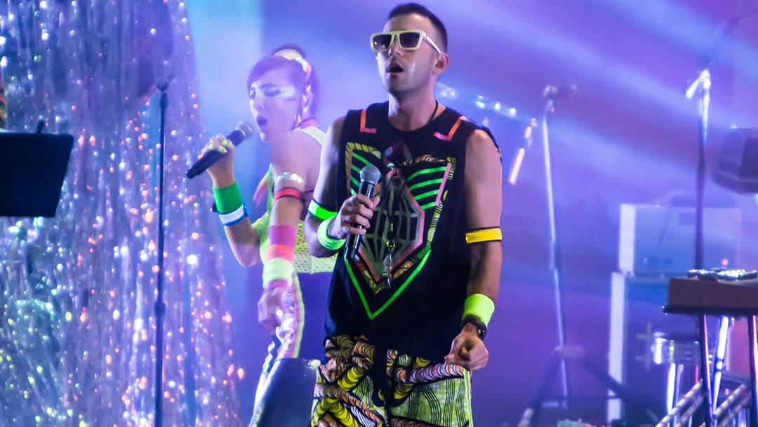 Sufjan Stevens at the Hollywood Bowl (Photo by Carl Pocket)