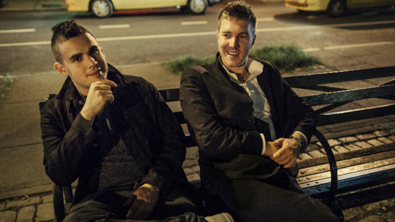Hamilton Leithauser + Rostam (photo by Josh Goleman)