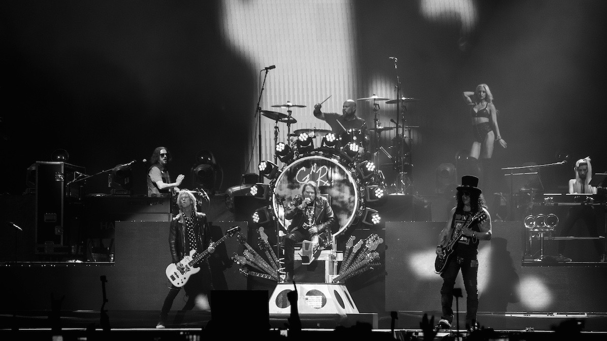 Guns N' Roses at Coachella (Photo by Misha Vladimirskiy, courtesy of Goldenvoice)