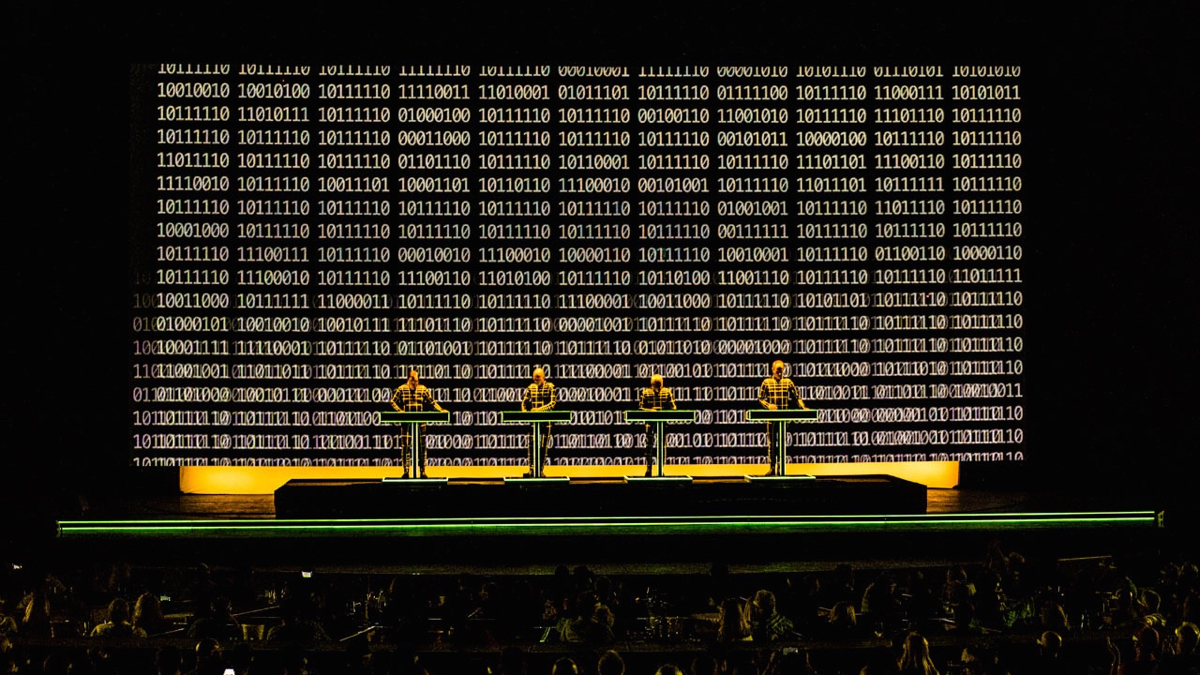 Kraftwerk at the Hollywood Bowl (Photo by Annie Lesser)