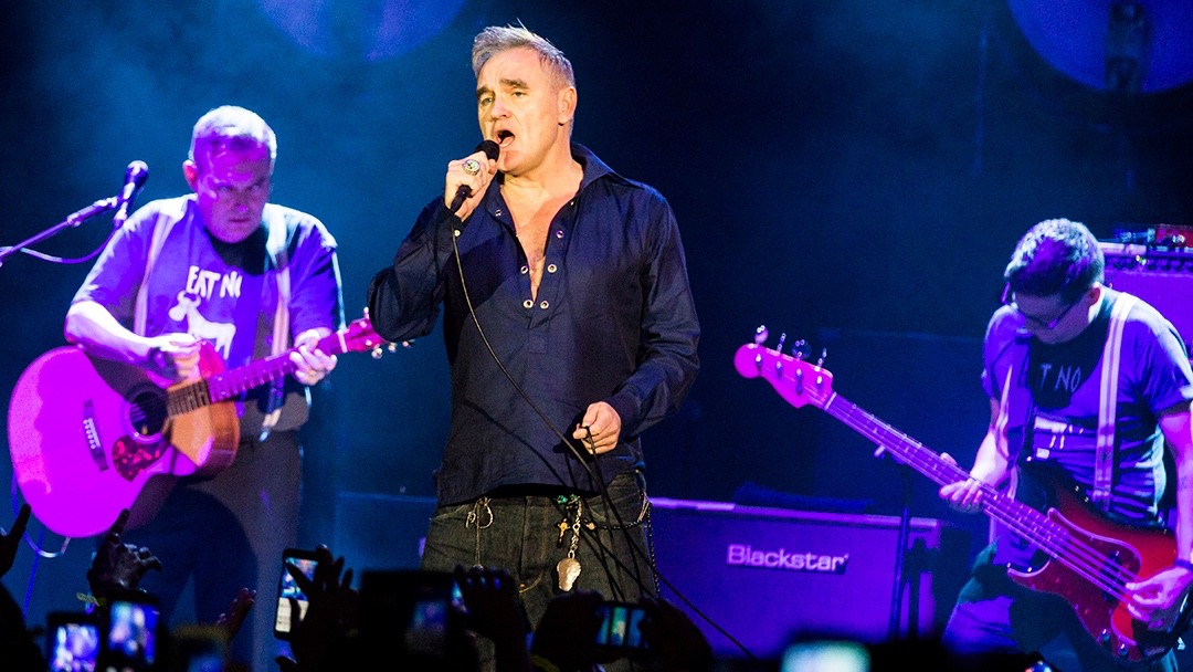Morrissey at the UCI Bren center (Photo by Carl Pocket)