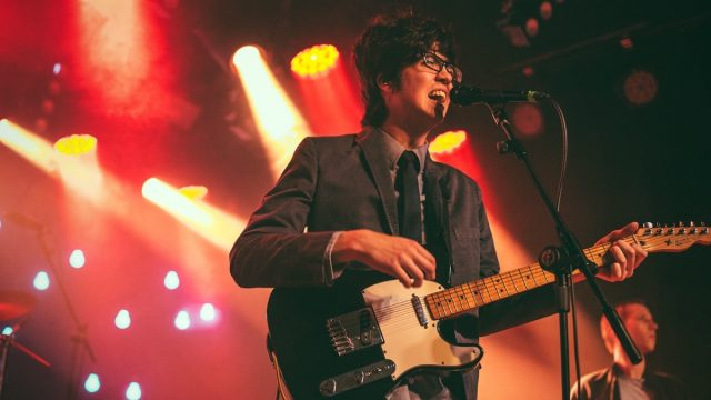 Car Seat Headrest at the Teragram Ballroom (Photo by Zane Roessell)