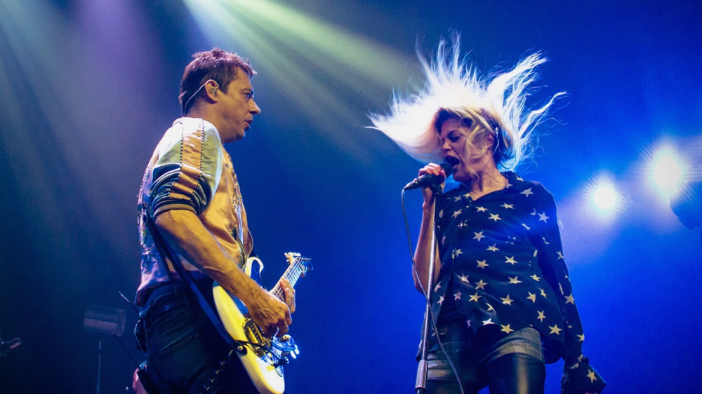 The Kills in April at the Mayan Theatre (Photo by Monique Hernandez)
