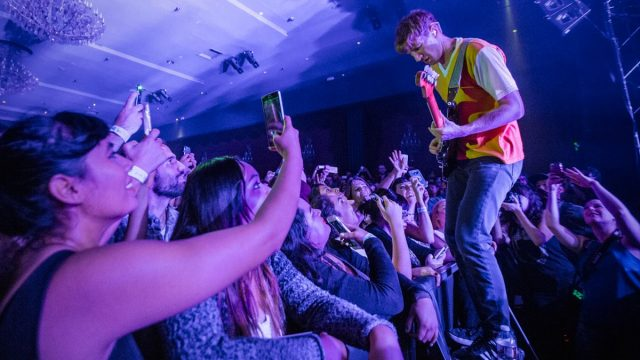 Glass Animals at the El Rey Theatre (Photo by Jessica Hanley)
