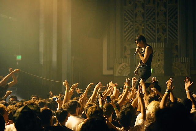 Savages at the Fox Theater. Photo by David Benjamin