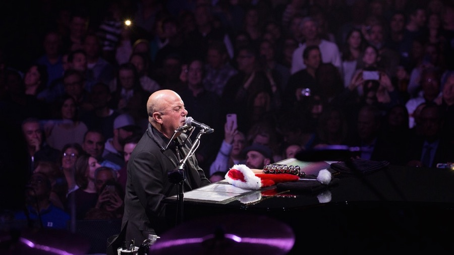 Billy Joel at Madison Square Garden in December (Photo by Jeff Schock)