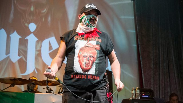 Brujeria at the Regent Theater (Photo by Carl Pocket)