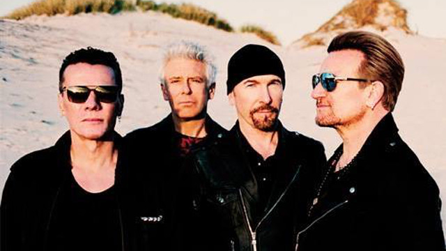 U2 (Photo by Anton Corbijn)