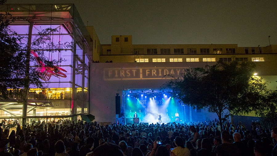 First Fridays' 2016 outdoor finale last June (Photo by Carl Pocket)