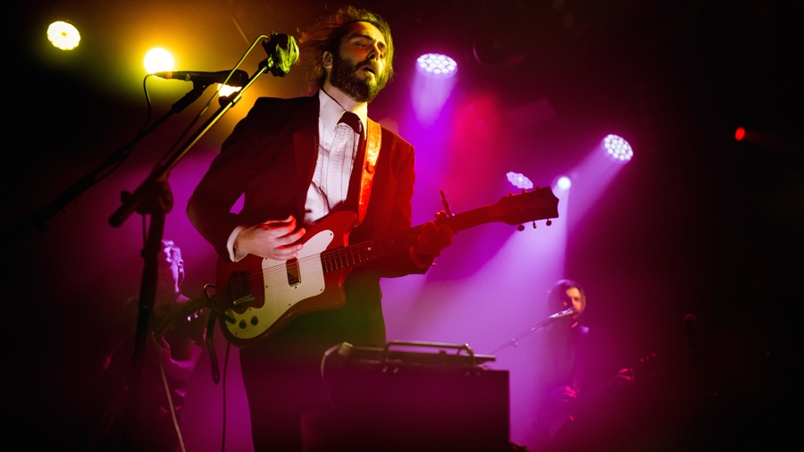 Lord Huron at Wednesday's show (Photo by Samantha Saturday)
