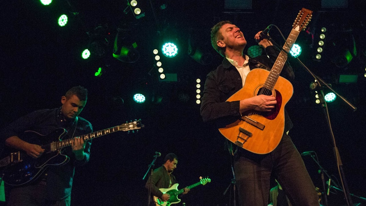Hamilton Leithauser at the Teragram Ballroom (Photo by Jessica Hanley)