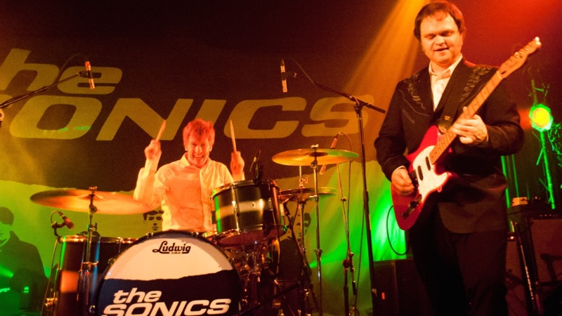 The Sonics at the Echoplex (Photo by Guillermo Prieto)