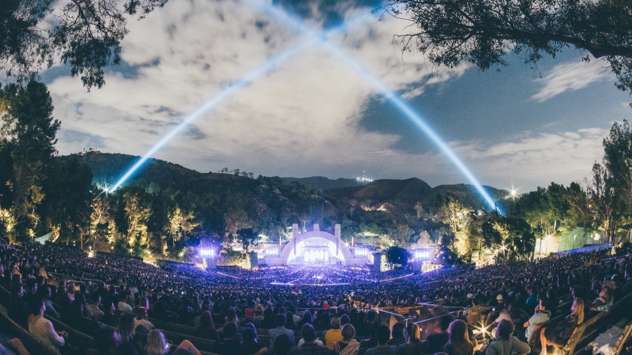 Hollywood Bowl, during Bon Iver's performance last October (Photo by Scotify)