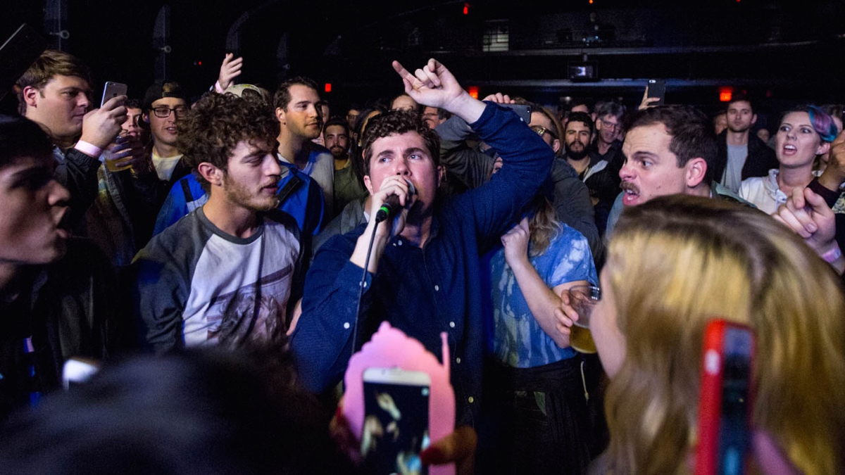 Surfer Blood at the Teragram Ballroom (Photo by Jessica Hanley)