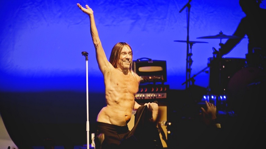 Iggy Pop last yera at the Greek Theatre (Photo by Michelle Shiers)