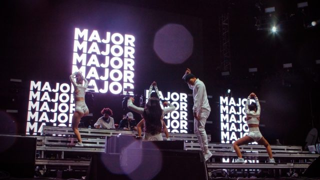 Major Lazer at Sunday's Air + Style Festival (Photo by Monique Hernandez)