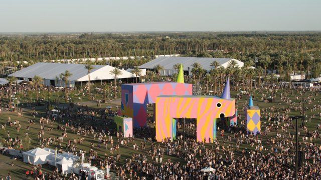 Coachella 2017 from above (Photo by Andrew Jorgenson, courtesy of Coachella)