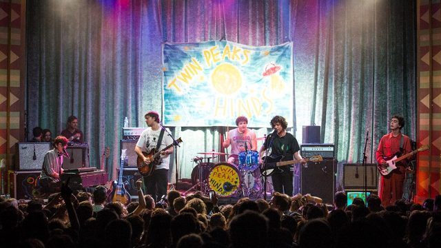 Twin Peaks at the Regent Theater (Photo by Carl Pocket)