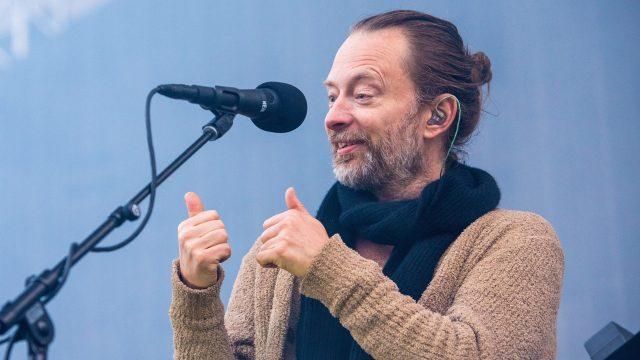 Radiohead at Berkeley's Greek Theatre (Photo by David Brendan Hall)