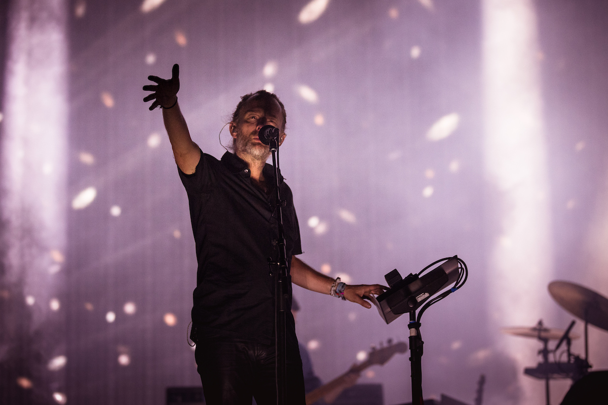Radiohead at Coachella, Weekend 2 (Photo by Julian Basjel, courtesy of Coachella)