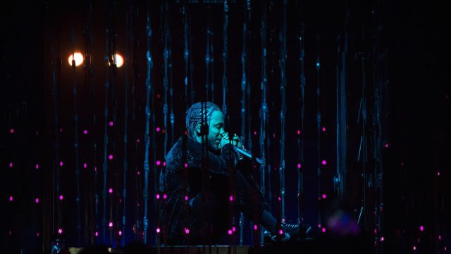 Kendrick Lamar at Coachella (Photo by Quinn Tucker)