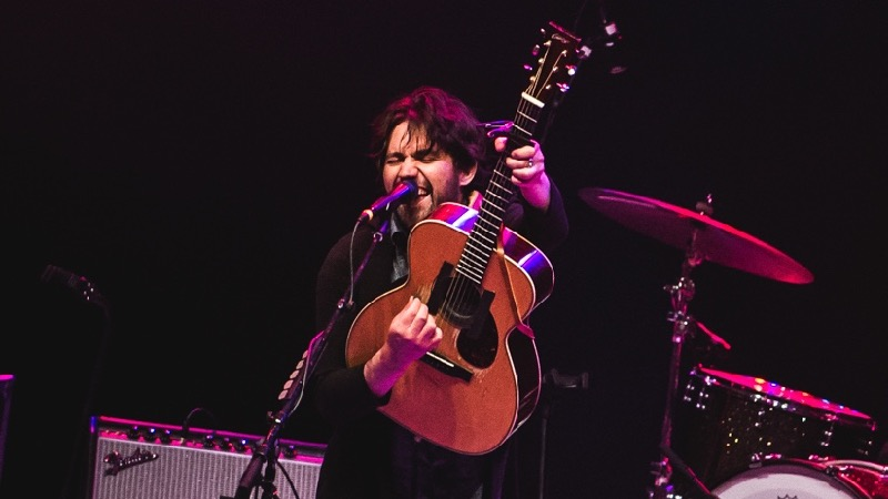 Conor Oberst at the Greek Theatre (Photo by Samantha Saturday)