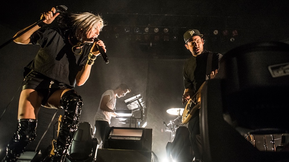 Phantogram, last October at the Palladium (Photo by Annie Lesser)