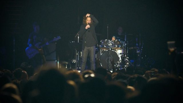 Chris Cornell, with Temple of the Dog at the Forum last November (Photo by David Benjamin)