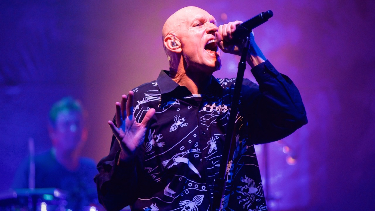 Midnight Oil at the Wiltern (Photo by Todd Nakamine)