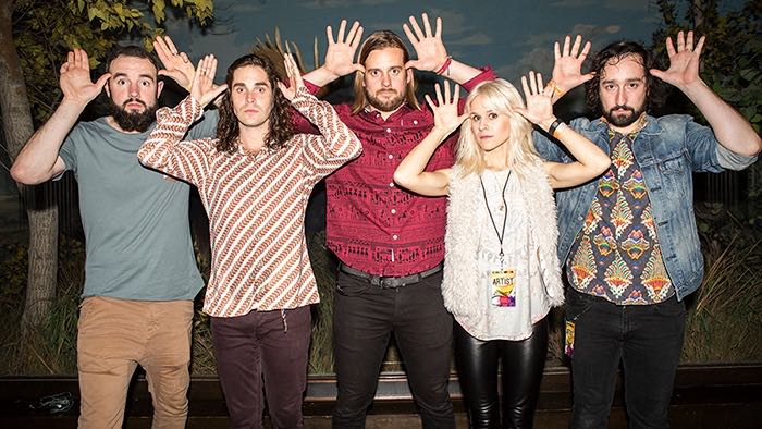 Youngblood Hawke in 2014 at the Natural History Museum (Photo by Kelsey Heng)