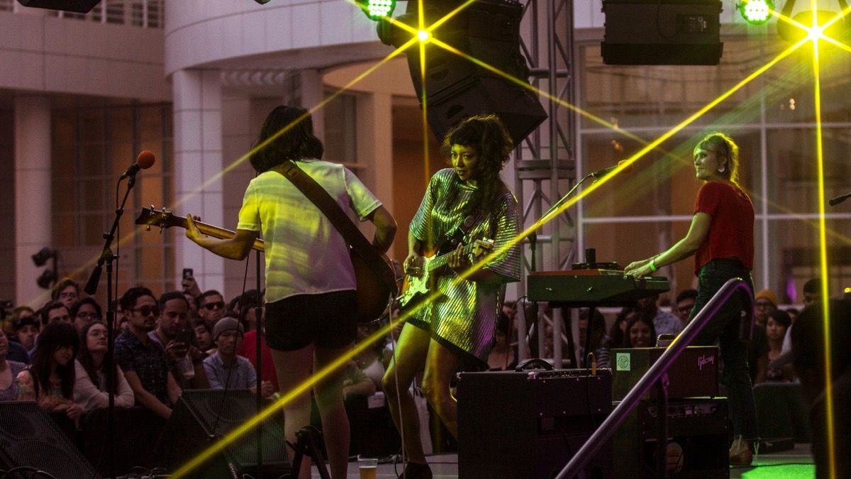La Luz at the Getty Center (Photo by Jazz Shademan)
