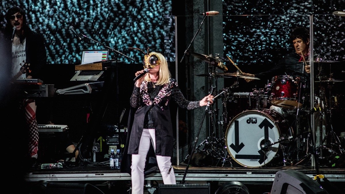 Blondie at the Hollywood Bowl (Photo by Annie Lesser)