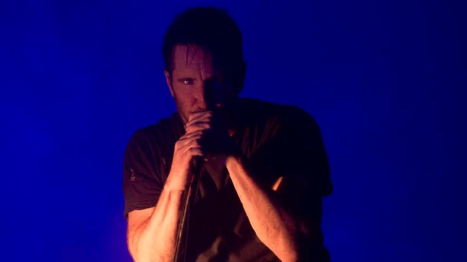 NIne Inch Nails at their FYF warmup Wednesday at Bakersfield's Rabobank Arena, their first show since 2014