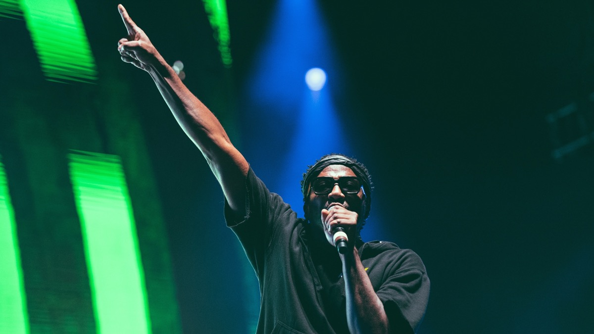 A Tribe Called Quest at FYF Fest (Photo by Zane Roessell)