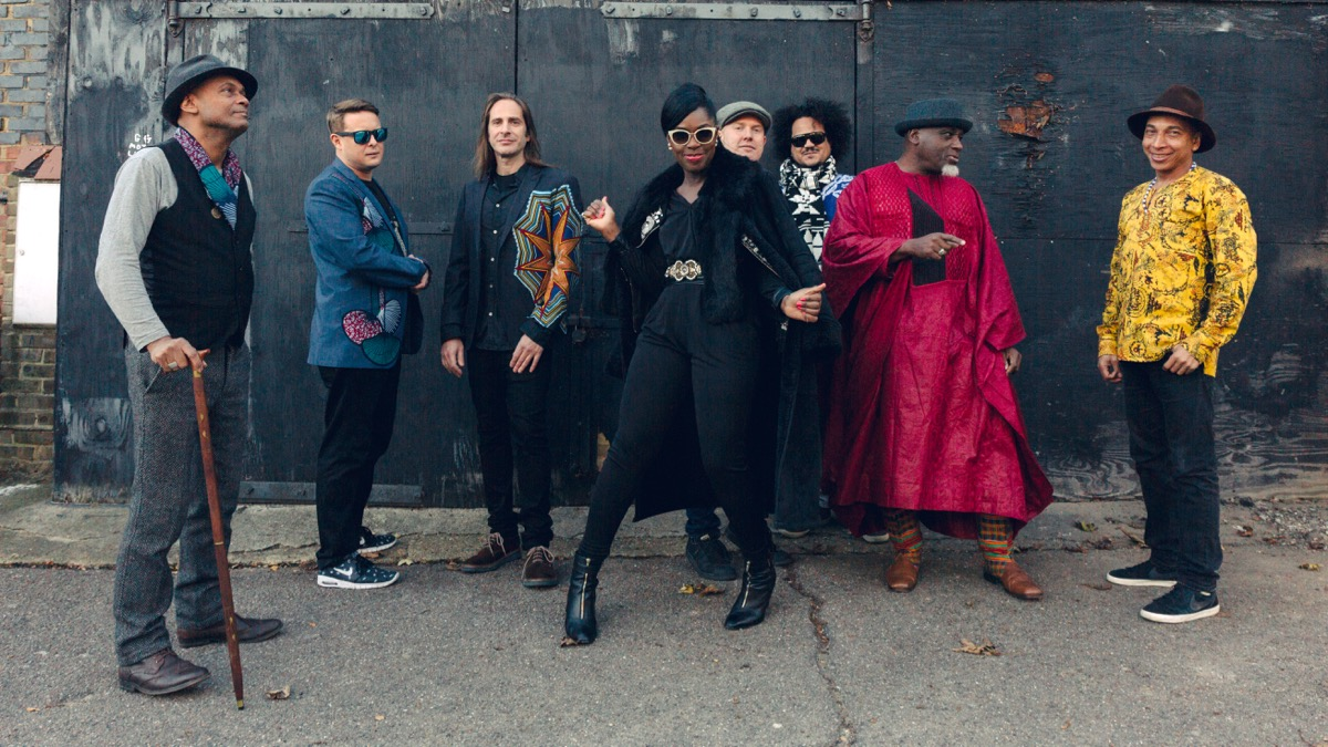 Ibibio Sound Machine (Photo by Dan Wilton)