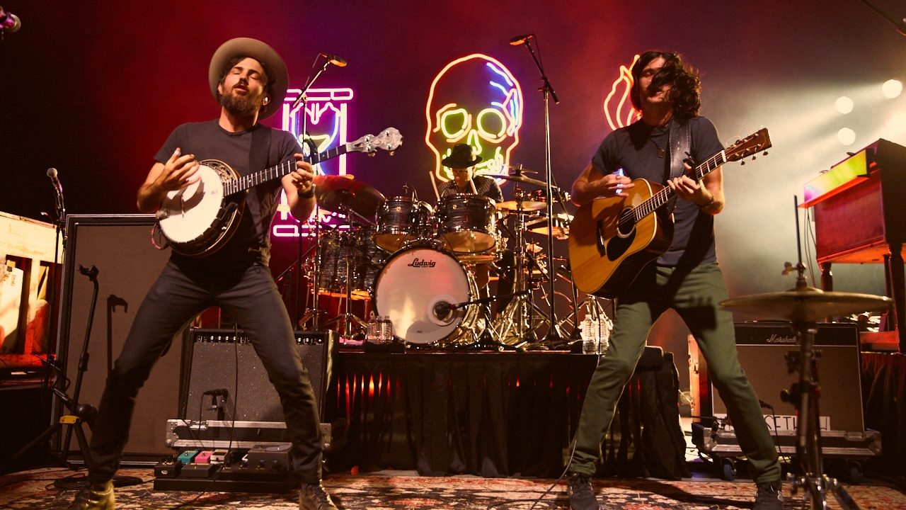 The Avett Brothers at the GreekTheatre (Photo by David Benjamin)