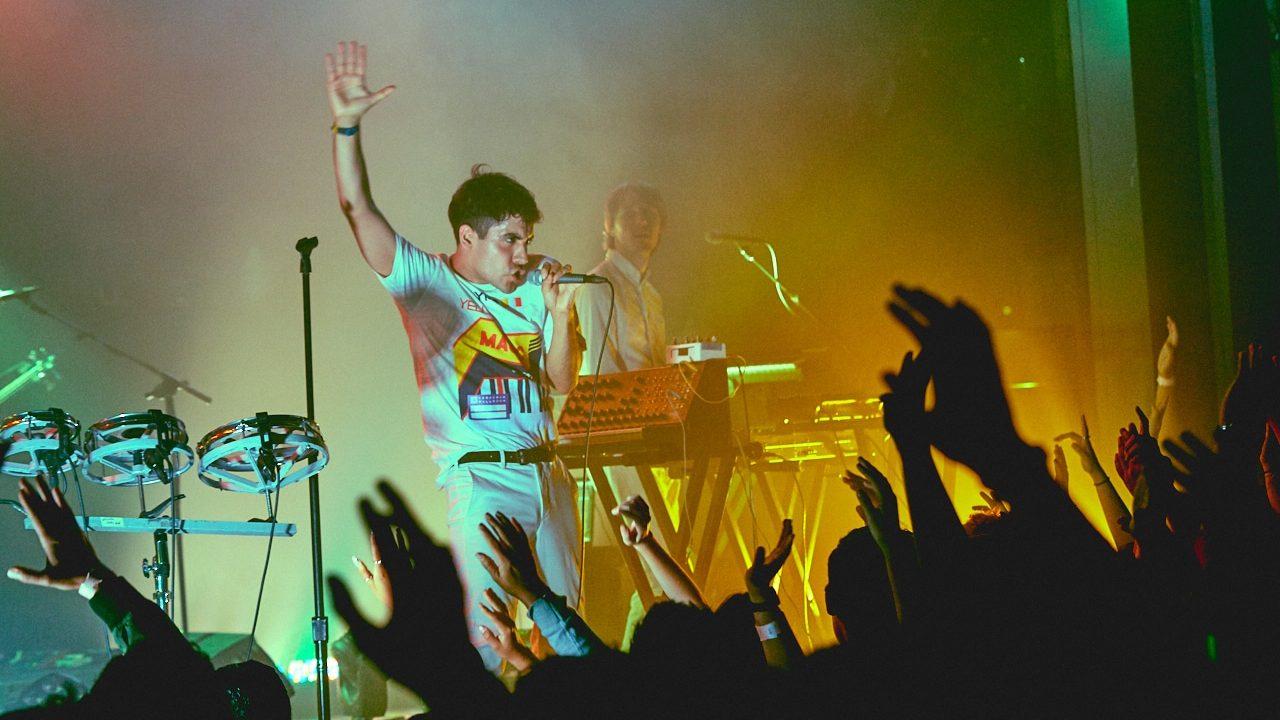Neon Indian at the Teragram Ballroom (Photo by David Benjamin)